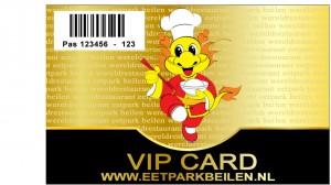 VIP Kaart Eetpark Beilen